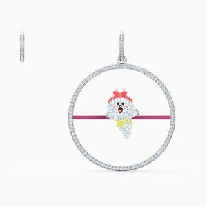 Swarovski Line Friends Pierced Earrings